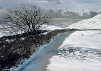 Snow Above Barbondale, Barbon, nr Kirby Lonsdale,