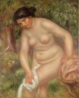 Bather drying herself, 1895
