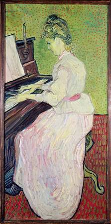 Marguerite Gachet at the Piano, 1890