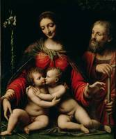 The Holy Family with the Infant St. John