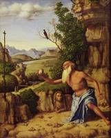 St.Jerome in a Landscape, c.1500-10