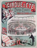 Poster advertising the 'Cirque d'Ete', c.1880