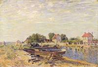 The Loing at Saint Mammes, 1885