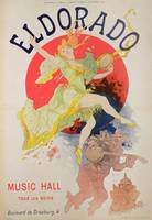 Poster for El Dorado by Jules Cheret