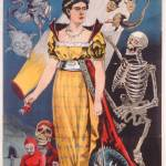 """Poster advertising Miss Baldwin, A Modern Witch of"" by fineartmasters"
