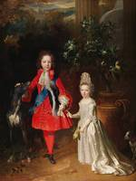 Prince James Francis Edward Stuart and Princess Ma