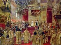 Study for the Coronation of Tsar Nicholas II