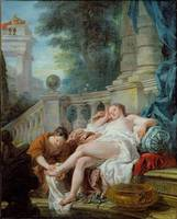The Bath of Bethsheba, 1727
