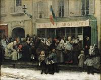 A Soup Kitchen during the Siege of Paris, after 18
