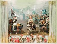Knight tournament, 1854