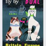 """Poster advertising British Overseas Airways, c.196"" by fineartmasters"
