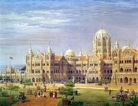 The British Raj Great Indian Peninsular Terminus