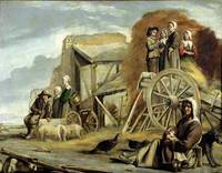 The Haycart, or Return from Haymaking, 1641