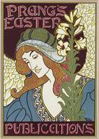Poster advertising Prang's Easter Publications, 1