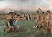 Young Spartans Exercising, c.1860
