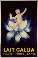 Poster advertising 'Lait Gallia', 1931