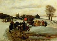 The Spring Pilgrimage of the Tsarina, under Tsar A