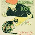 """Poster Calendar, pub. by R.H. Russell & Son, 1897"" by fineartmasters"