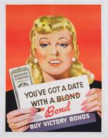 'You've Got a Date With a Bond', poster adverti
