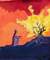 God speaks to Moses from the burning bush, 2004