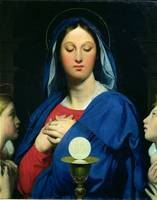 The Virgin of the Host, 1866
