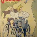 """Poster advertising Gladiator bicycles and motorcyc"" by fineartmasters"