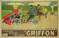 Poster advertising 'Griffon Cycles, Motos