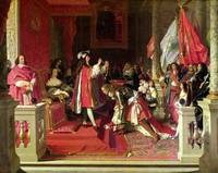 King Philip V of Spain Making  Duke of Berwick a C