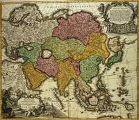 Map of Asia, Nuremberg, c.1730