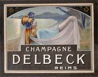Advertisement for Champagne Delbeck