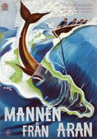 Advertisement for Mannen Fran Aran, printed by J.