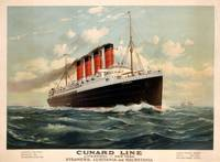 Advertisement for the Cunard Line, c.1908