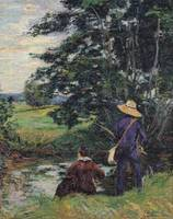 The Anglers, c.1885