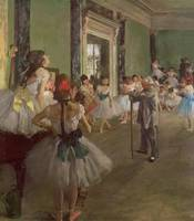 The Dancing Class, c.1873 76