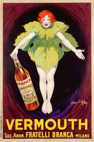 Poster advertising 'Fratelli Branca' vermouth, 1
