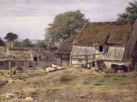 A Farmhouse in Sweden, 1834