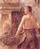 Foundry Worker, 1902