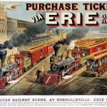 """The American Railway Scene at Hornellsville, Erie"" by fineartmasters"