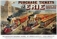 The American Railway Scene at Hornellsville, Erie