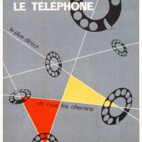 """Advertisement for the telephone c"" by The Fine Art Masters"