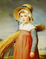 The Little Gleaner, 1824