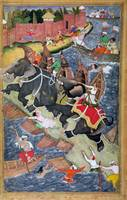 Akbar tames the Savage Elephant, Hawa'i, outside