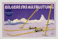 Advertisement for skiing in Austria, c.1912