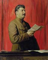 Portrait of Josif Stalin, 1933