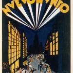 """Nuovo Mondo, poster advertising a Radio City style"" by fineartmasters"
