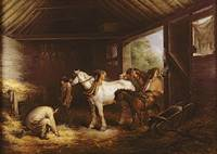 Inside a Stable