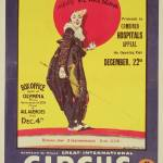"""Bertram Mills circus poster, 1922"" by fineartmasters"