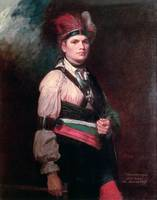 Joseph Brant, Chief of the Mohawks, 1742-1807