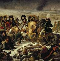 Napoleon on the Battle Field of Eylau, 9th Februar