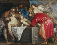 The Entombment of Christ, 1559